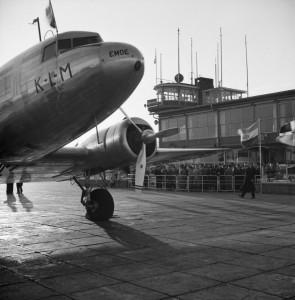 Van de Poll 1936 Boeing KLM Schiphol
