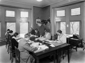 Van de Poll kantoor 1932